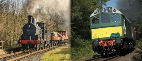 1.Steam & Heritage Diesel Running Weekend!
