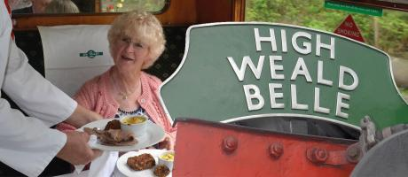 'High Weald Belle' Luncheon & Dining Trains