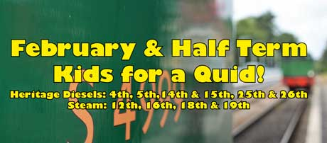 February & Half Term Kids For A Quid