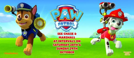 See Chase & Marshall from PAW Patrol!