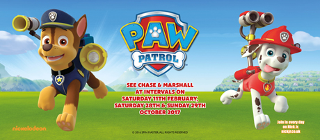 See Chase & Marshall from PAW Patrol & Family Fun!