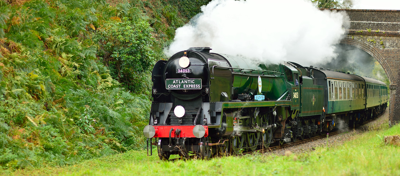 Steam and Heritage Diesel Train Rides!